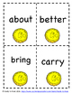 St. Patrick's Day Dolch Third Grade Sight Word Game