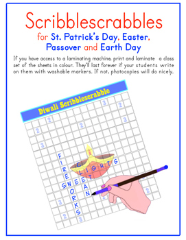 St. Patrick's Day, Easter, Passover & Earth Day (English,