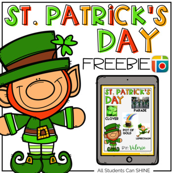St. Patrick's Day FREEBIE {Pic Collage Activity}