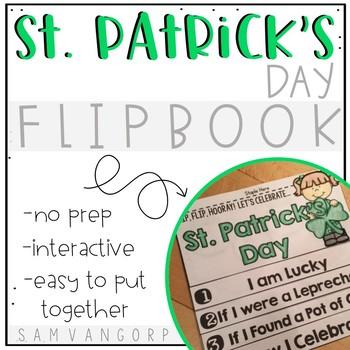 St. Patrick's Day Flip Book (NO PREP)