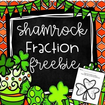 St. Patrick's Day Fraction Freebie