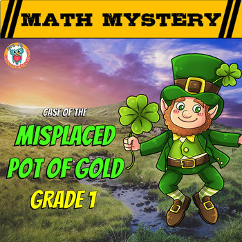 St Patrick's Day Math Mystery Activity - GRADE 1 Math Review