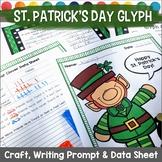 St. Patrick's Day Glyph  Leprechaun Survey, Craft, Data Sh