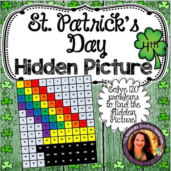 St. Patrick's Day Hidden Picture for 4th