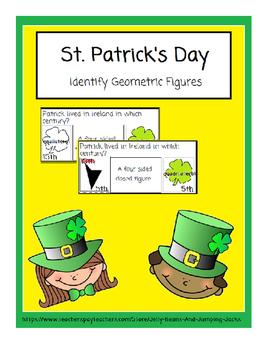 St. Patrick's Day-Identifying Geometric Figures