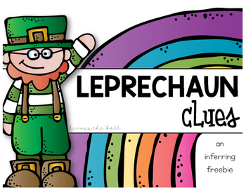 St. Patrick's Day Inferring FREE