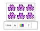 St. Patrick's Day Interactive Counting Book