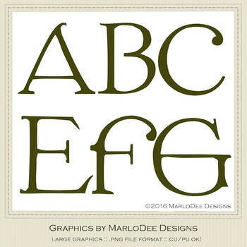 St. Patrick's Day Irish Celtic Green Letter & Number Graphics