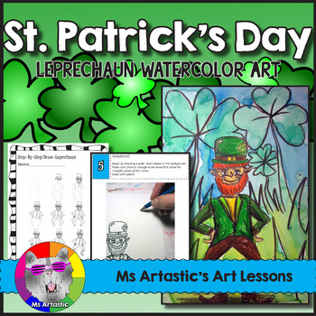 St. Patrick's Day Art Lesson, Leprechaun
