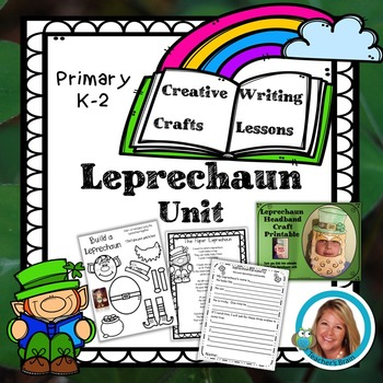 St Patricks Day Craft Leprechaun Writing Unit by Teacher's Brain