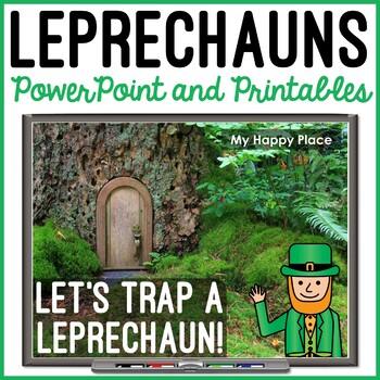 St. Patrick's Day Leprechaun Unit with Trap Activity