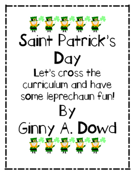 St. Patrick's Day! Let's Cross the Curriculum and have some fun!