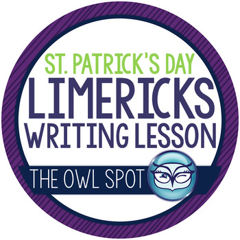 St. Patrick's Day Limerick Writing Lesson and Craftivity -