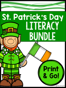 St. Patrick's Day Literacy Bundle