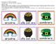 St. Patrick's Day Literacy and Math Activity Pack (SPANISH