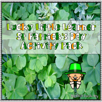 St. Patrick's Day Lucky Little Learner Literacy Activity Pack