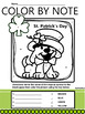 St. Patrick's Day MUSIC activities: instrument word search