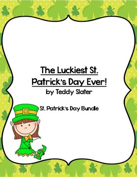 St Patrick's Day Math, Art, Science, Writing and Language