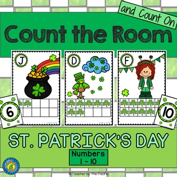 March Math Center: Count the Room 1 - 10