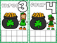 St. Patrick's Day Math Frame Cards