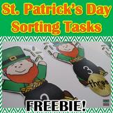 St. Patrick's Day Math Sort {FREEBIE}