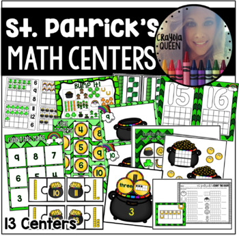 St. Patrick's Day Math Stations
