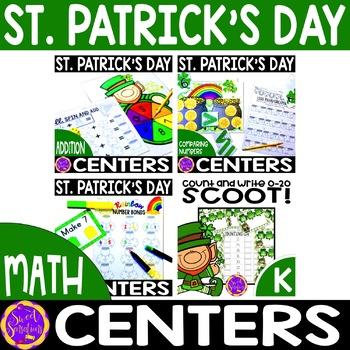 st patricks day math for Kindergarten