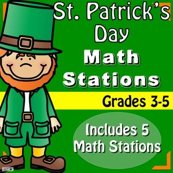 St. Patrick's Day Math - Upper Grade
