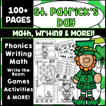 St. Patrick's Day Math Writing KIndergarten