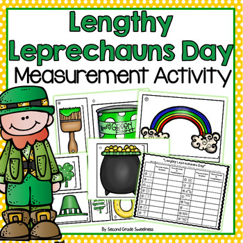 St. Patrick's  Day Measurement Activity: Measuring in Inch