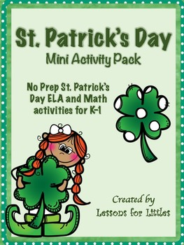 St. Patrick's Day Fun Reading -Addition and Subtraction- W