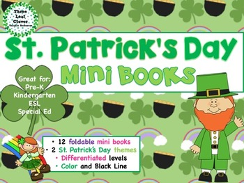 St. Patrick's Day Mini Books - ESL/ENL, Special Needs, You