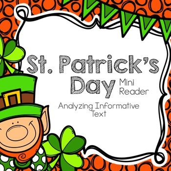 St. Patrick's Day Mini Reader & Reader Response