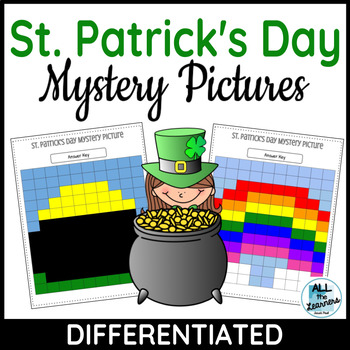 St. Patrick's Day Mystery Pictures (CCSS)