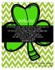 St. Patrick's Day Math - No Prep Packet  3rd-4th Grade Edition