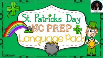 St. Patrick's Day No Prep Language Pack: Grammar, Vocabula