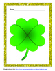 St. Patrick's Day- Number Forms Shamrock