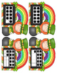 St. Patrick's Day Numbers, Ten Frames, Number Words (0-20)
