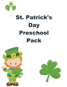 St.Patrick's Day Pack for Preschoolers