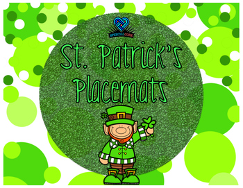 St. Patrick's Day Placemats