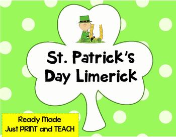 St. Patrick's Day Poetry {No Prep}