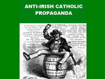 St. Patrick's Day PowerPoint - Anti-Irish Propaganda