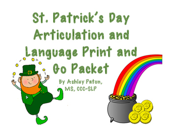 St Patrick's Day Print and Go