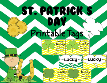 St. Patrick's Day Printable Labels