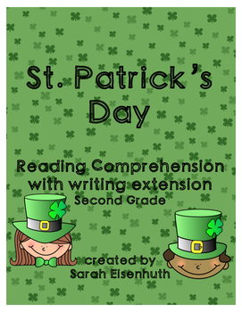 St. Patrick's Day Reading Comprehension with Writing Exten