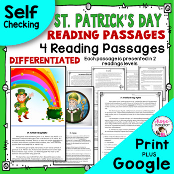 St. Patrick's Day Reading Passages