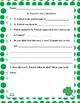 St. Patrick's Day Reading Sample FREE