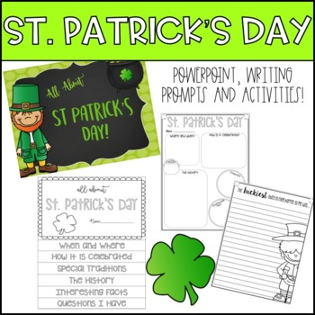 St. Patrick's Day Research and Writing