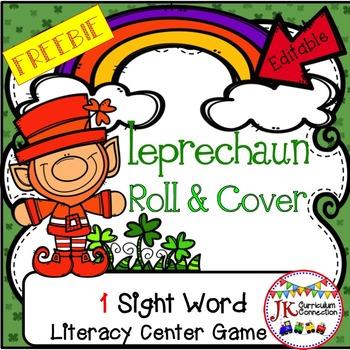 St. Patrick's Day Sight Word Game FREEBIE – Leprechaun Rol