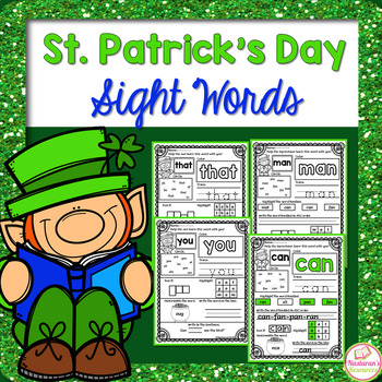 St. Patrick's Day Sight Words | Word Families